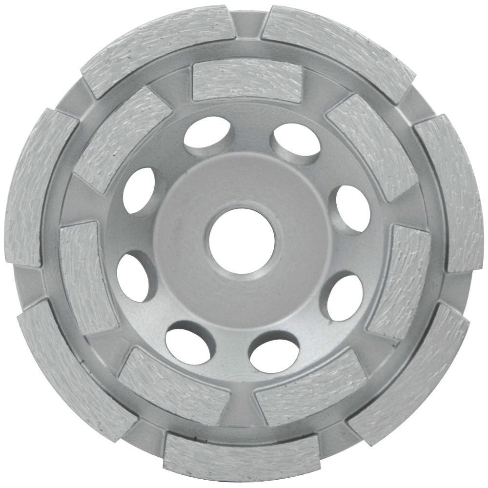 7 in. Diamond Cup Wheel Double Row