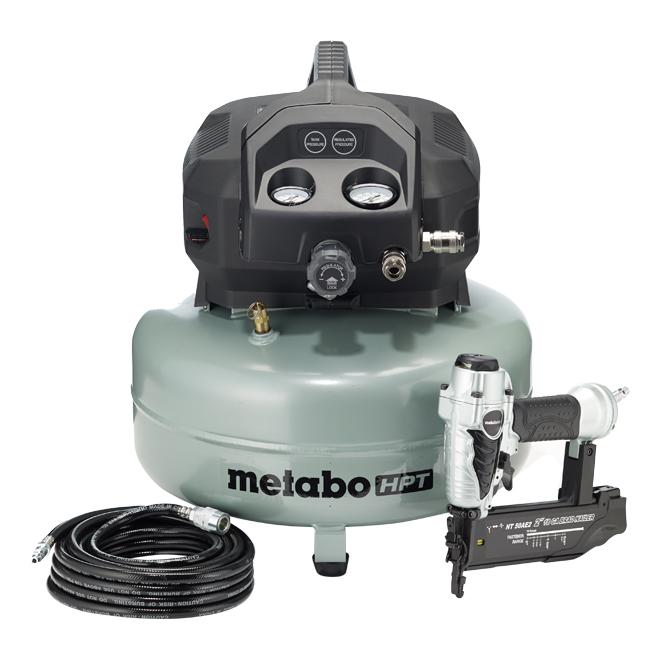 Air Compressor - 6 Gal - 150 Psi - Green and Black