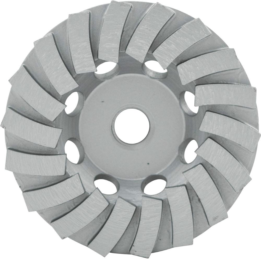7 in. Diamond Cup Wheel Segmented-Turbo