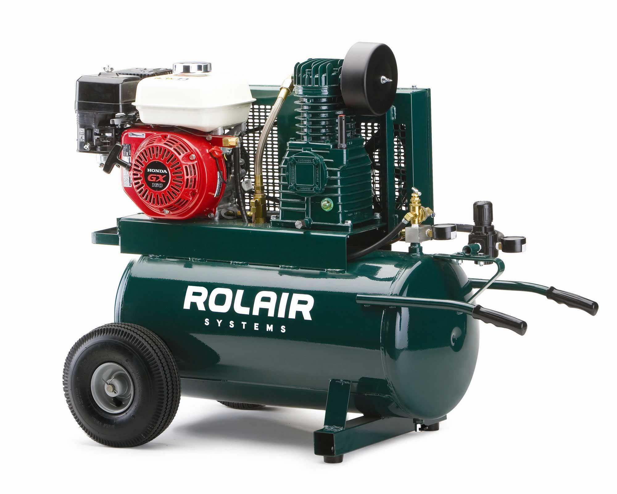 5.5 HP Wheeled Gas Air Compressor