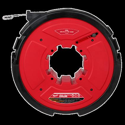"M18 FUEL™ ANGLER™ 120' x 1/8"" Steel Pulling Fish Tape Drum"