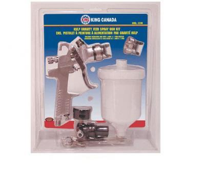 Spray Gun Kit, Gravity Feed HVLP