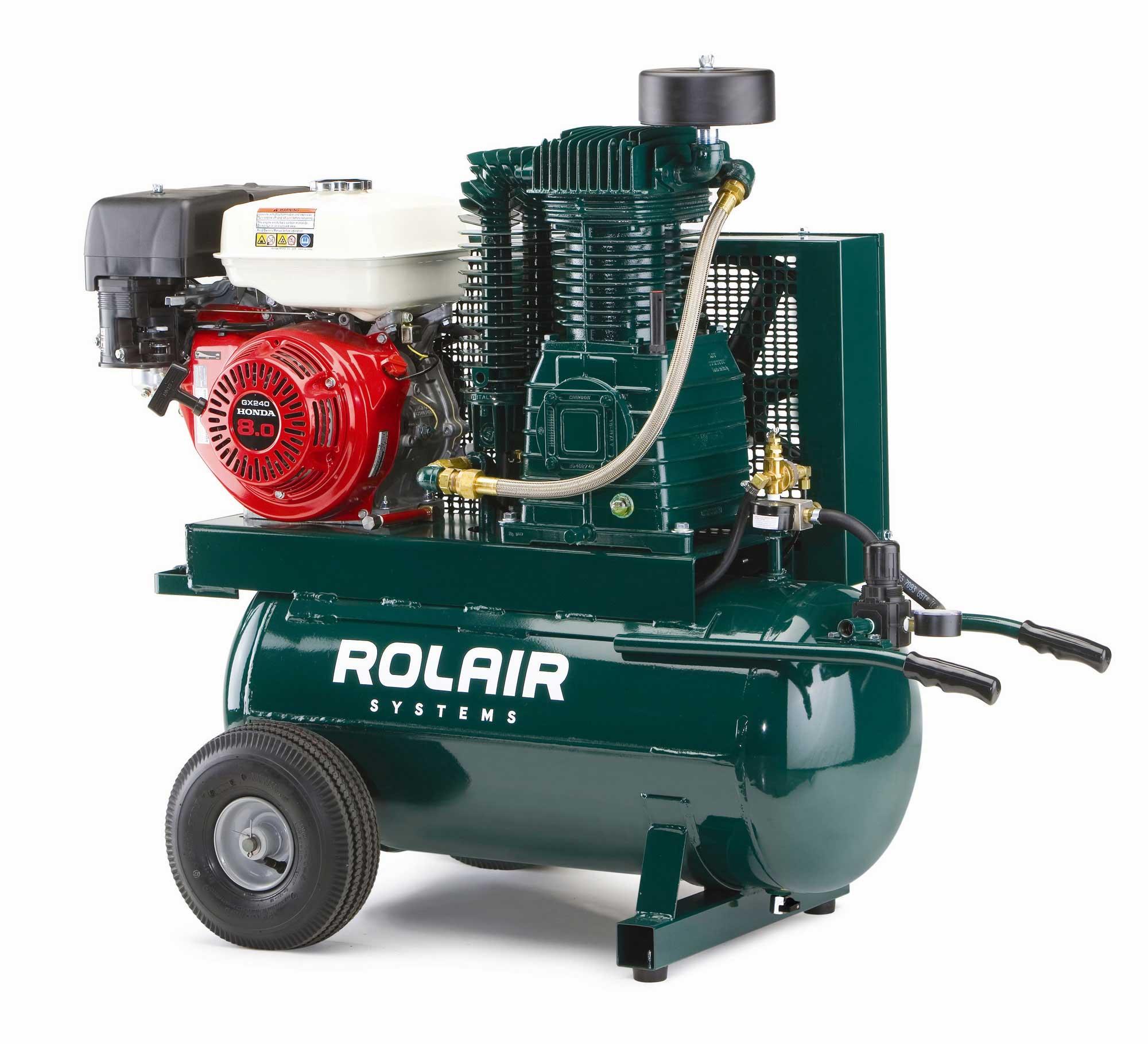 8 or 9 HP Honda Powered Gas Compressor