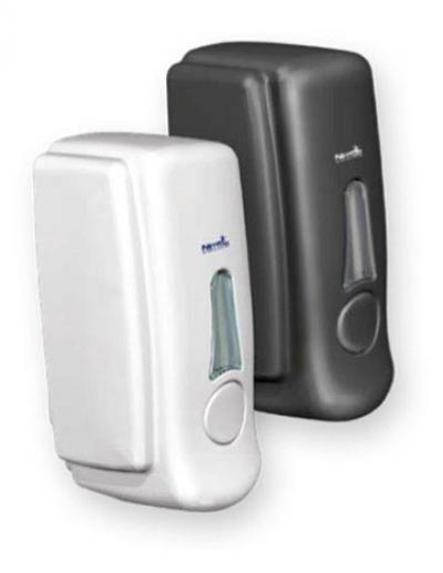 Nettuno T-Small Black Wall Dispenser - For Foam Pouch -
