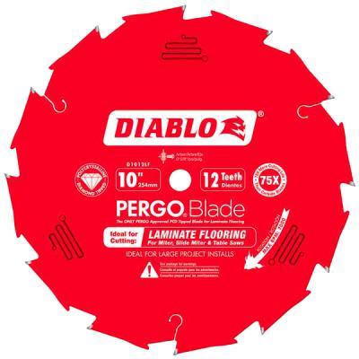 10 in. x 12 Tooth (PCD) Laminate Flooring PERGOBlade