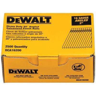 20-Degree Angled Finish Nail (Pack of 2500)