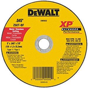XP METAL CUTTING WHEELS TYPE 1