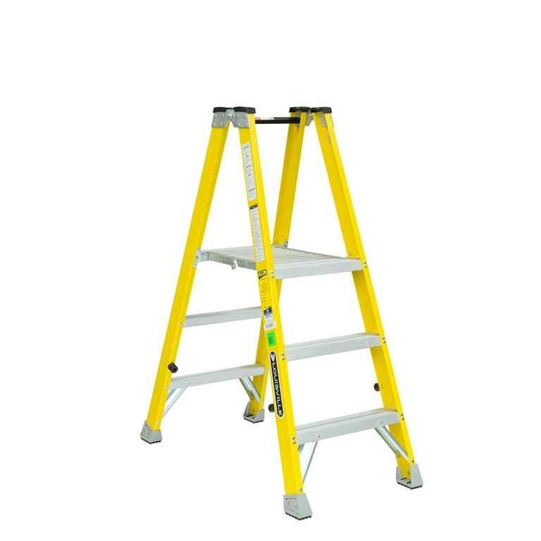 3 ft Fiberglass Mechanic Step Ladders