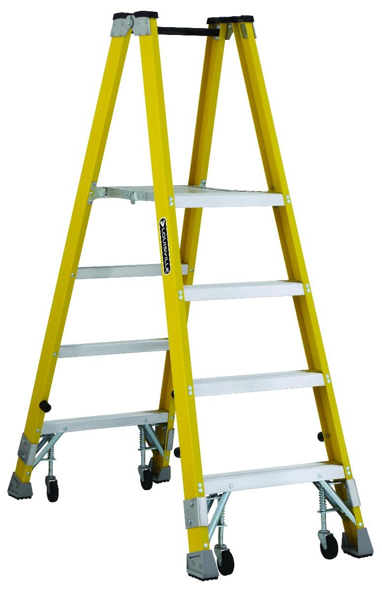 4 ft Fiberglass Mechanic Step Ladders