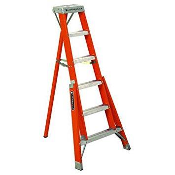6 ft Fiberglass Tripod Step Ladders