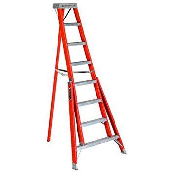8 ft Fiberglass Tripod Step Ladders
