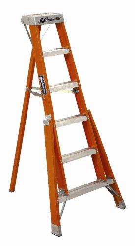 12 ft Fiberglass Tripod Step Ladders
