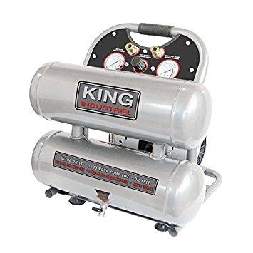 Ultra-Quiet Oil-Free Air Compressor 4.6 Gal