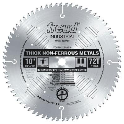 """10"""" Thick Non-Ferrous Metal Blade"""