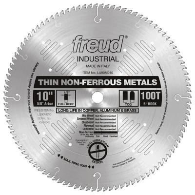 """10"""" Thin Stock Non-Ferrous Metal Blade"""