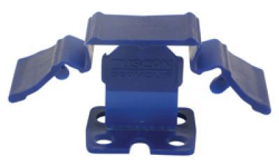 "3/8"" to 1/4"" Tuscan Blue SeamClip™, 500/Box"