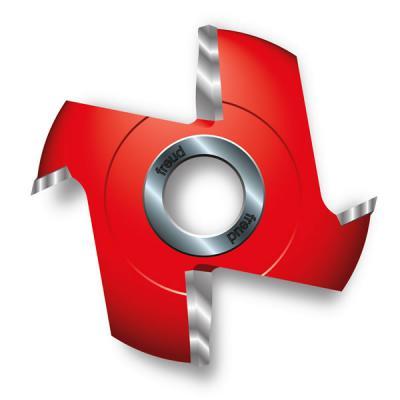 """4-15/16"""" (Dia.) Fixed Wing Quadra-Cut™ Raised Panel Cutter"""