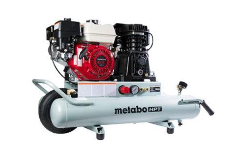 8-Gallon Gas Powered Wheelbarrow Air Compressor
