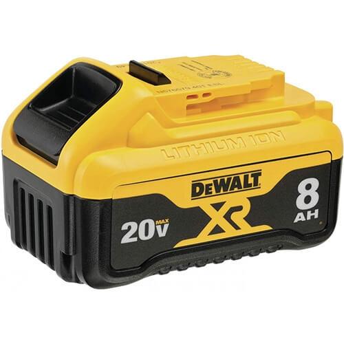 20V MAX* 8Ah XR® Lithium Ion Battery