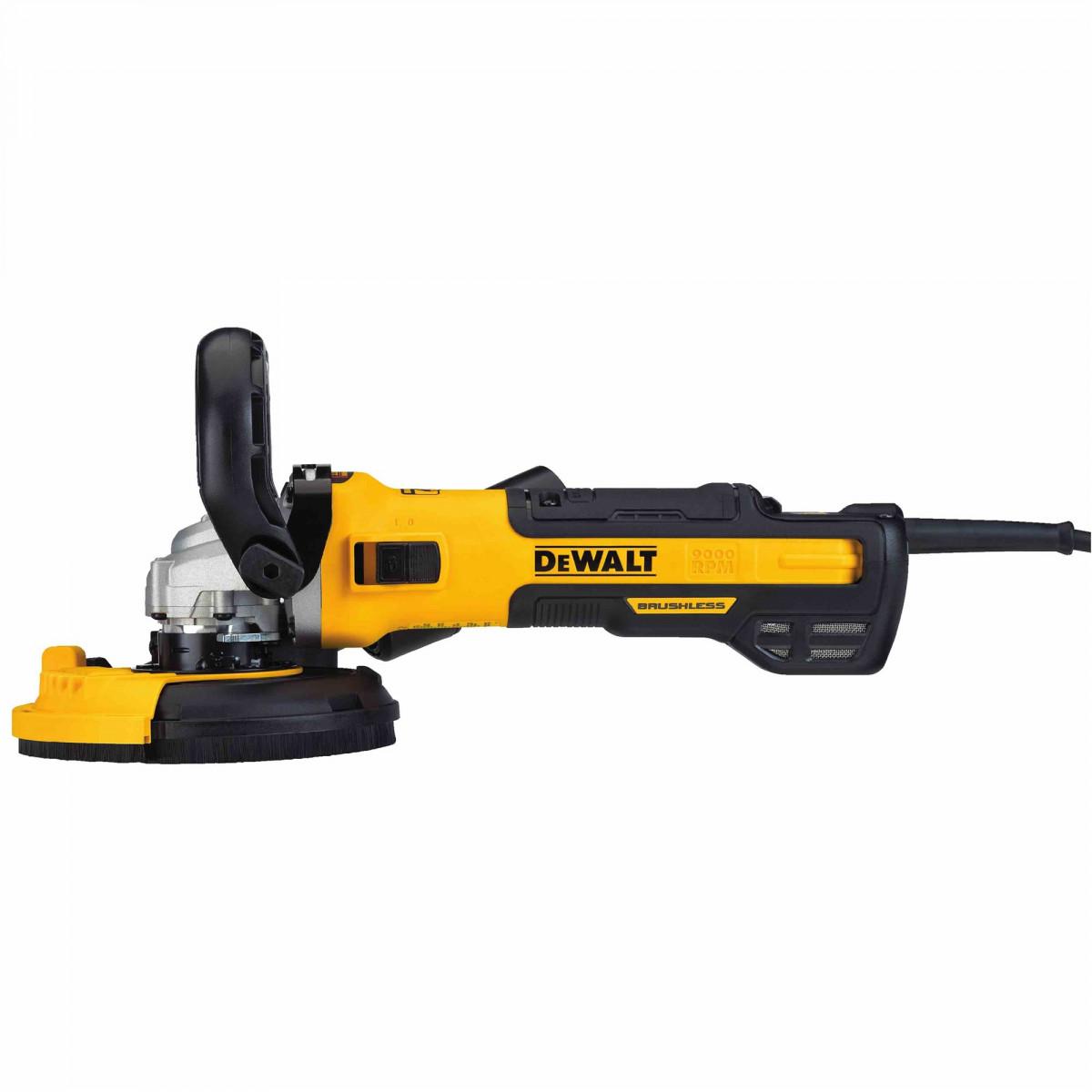 """DEWALT DWE46253 5"""" Surfacing Grinder Kit With Kickback Brake"""
