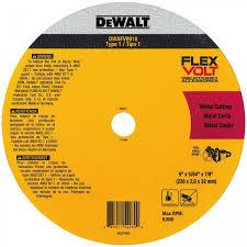 WHEEL FOR CERAMIC AND METAL FLEXVOLT® TYPE 1