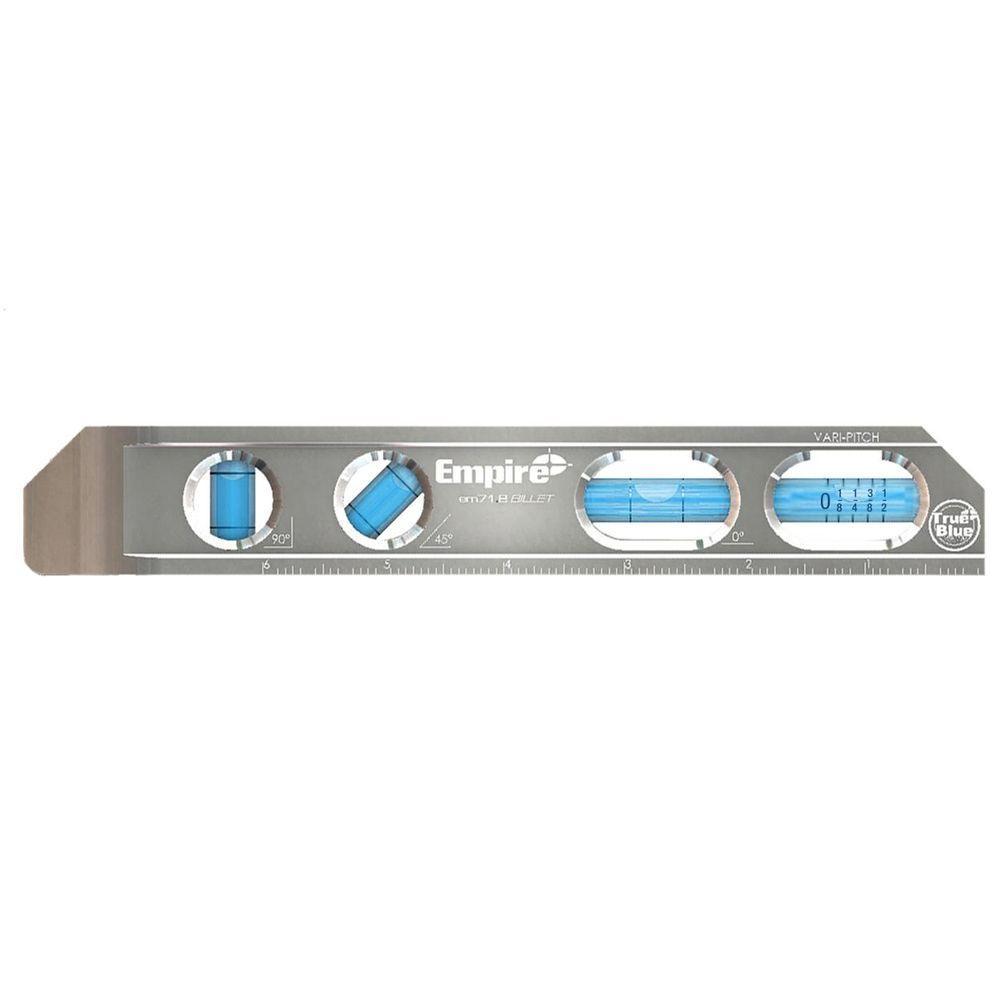 200 mm TRUE BLUE® Magnetic Billet Torpedo Level (Metric)