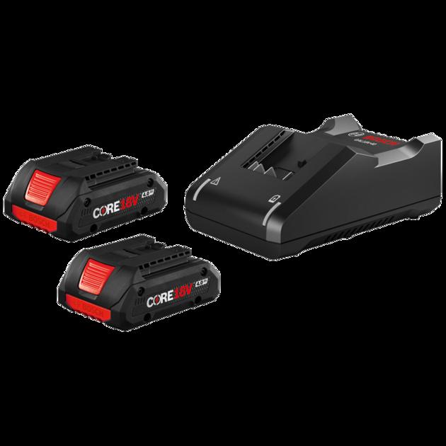 18V CORE18V Starter Kit with (2) CORE18V 4.0 Ah Compact Batteries