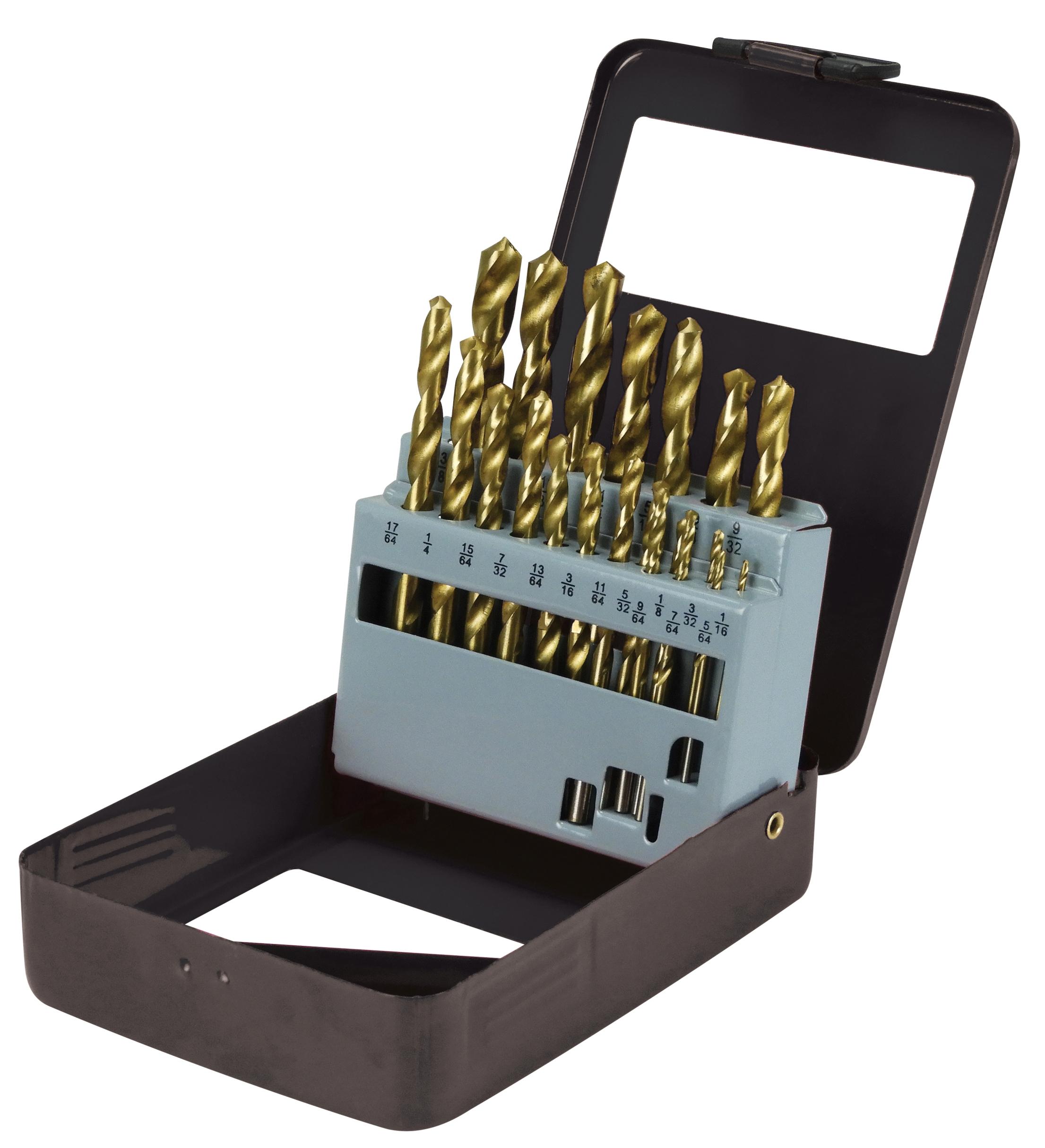 21 PC. Drill Bit Kit