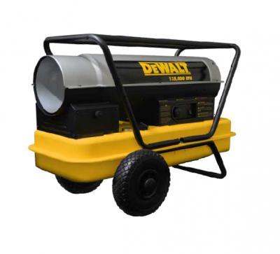Portable Heater, Forced Air Kerosene 135,000 BTU