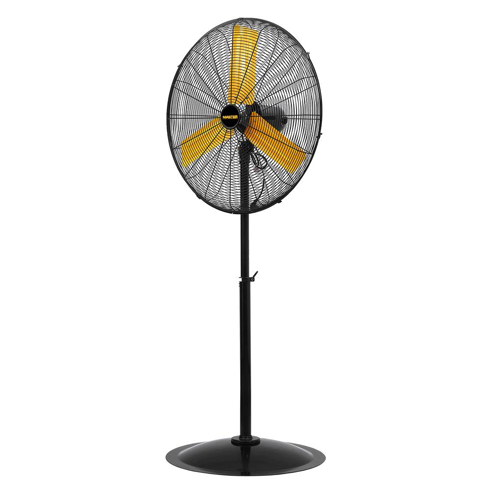24″ High Velocity Oscillating Pedestal Fan