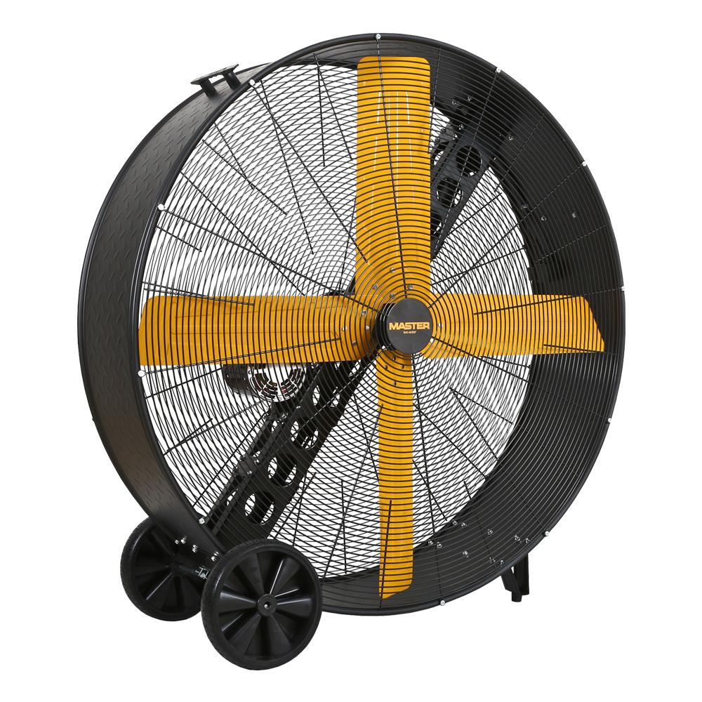 48″ High Capacity Belt-Drive Barrel Fan