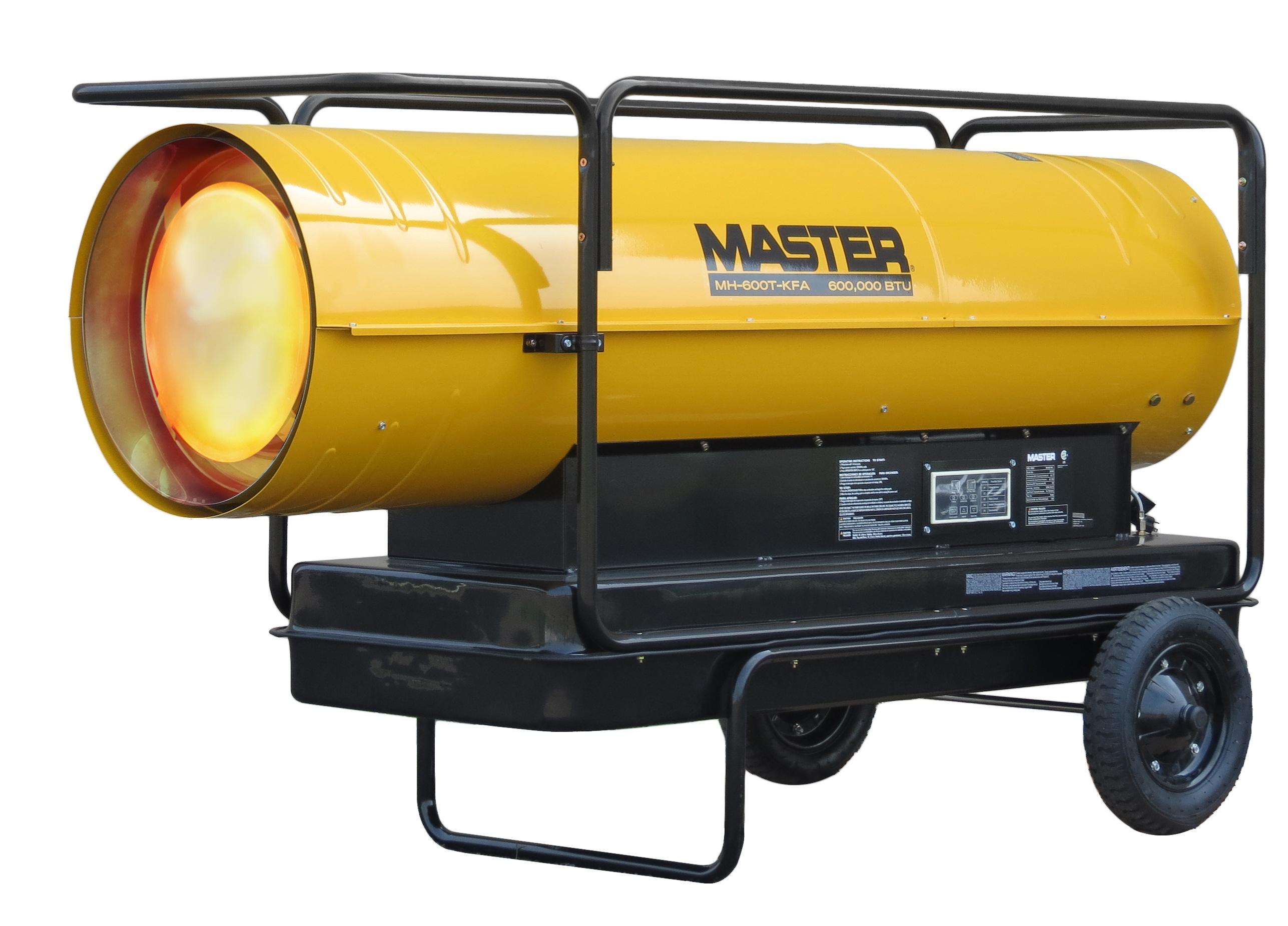 Kerosene Forced Air Heaters 600,000 BTU