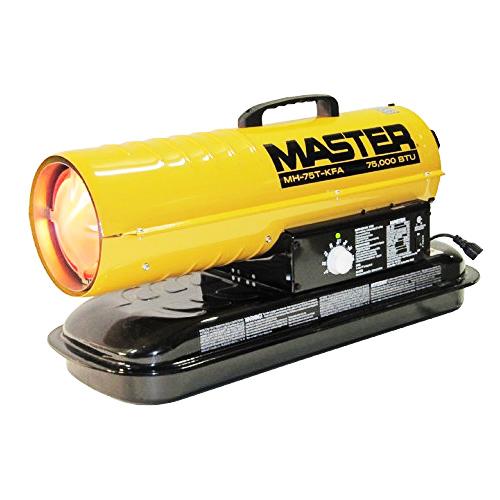 Kerosene Forced Air Heaters 75,000 BTU
