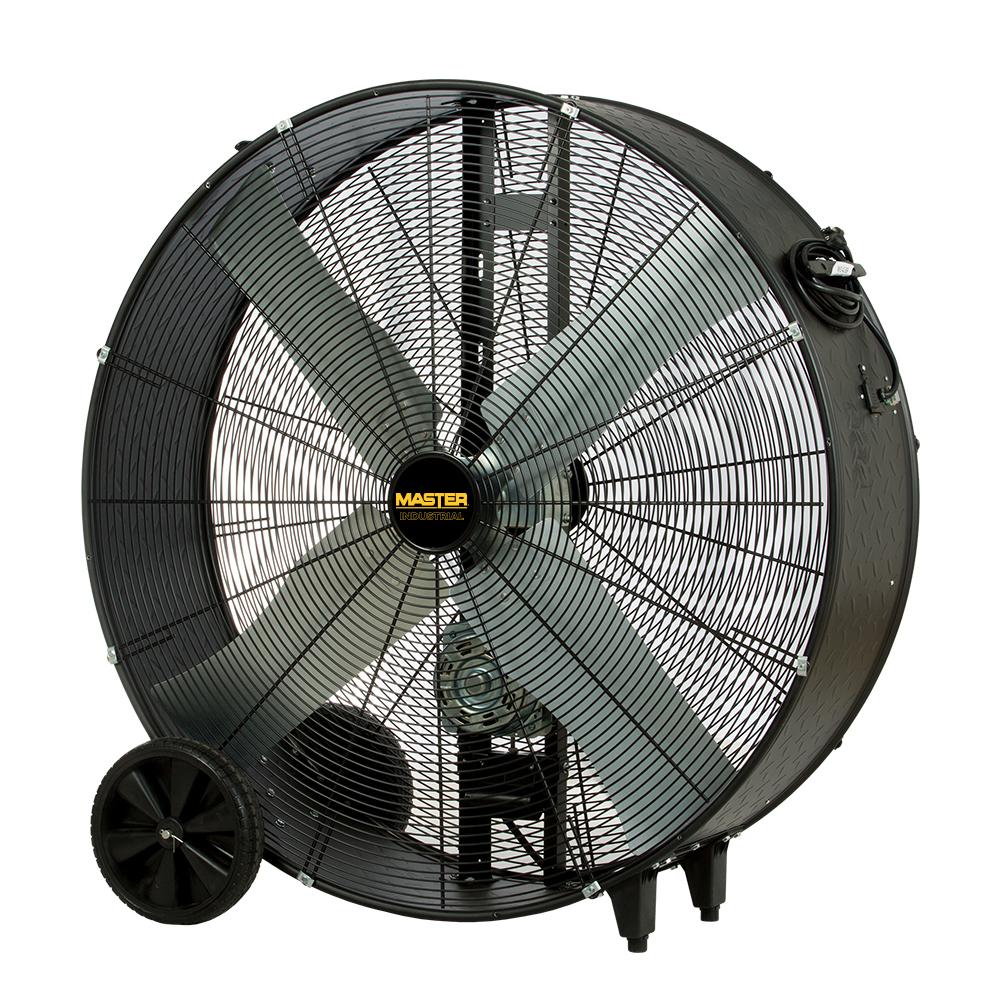 42″ High Capacity Heavy-Duty Belt-Drive Barrel Fan